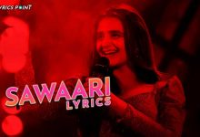 Sawaari Song Lyrics - Hira Mani - Kashmir Beats - Season 1